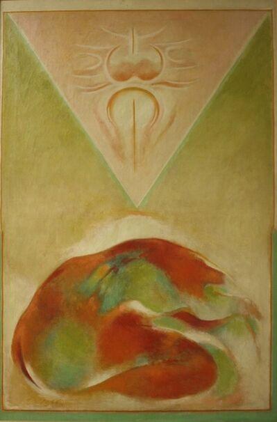 Gulam Rasool Santosh, 'Pyramid', 1990