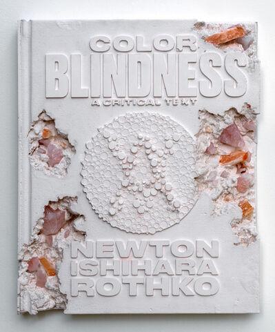 Daniel Arsham, 'Rose Quartz Eroded Colorblindness Book', 2019