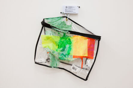 Jessica Stockholder, 'Text Bubble', 2014