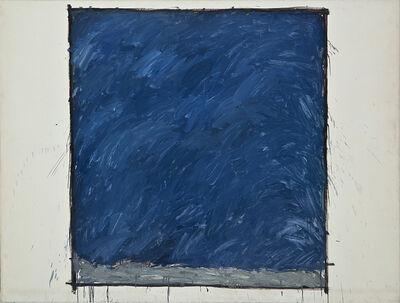 Jordi Teixidor, 'Blue painting I', 1986