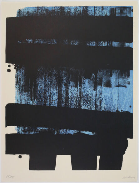 Pierre Soulages, 'Lithographie n° 36', 1974