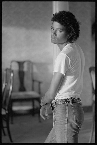 Todd Gray (b.1954), 'Michael Jackson', 1981/2010