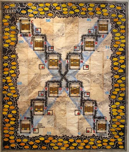 George Widener, 'Robot Puzzle X', 2015