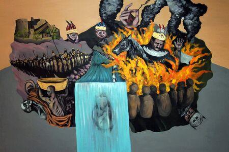 Pouya Afshar, 'Siavash in Fire', 2012