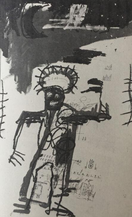 Jean-Michel Basquiat, 'Basquiat at Annina Nosei Gallery 1986 (announcement) ', 1986