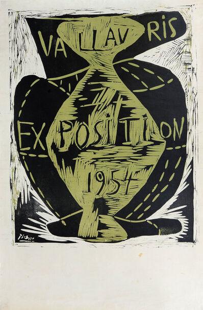 Pablo Picasso, 'Vallauris Exposition 1954', 1954