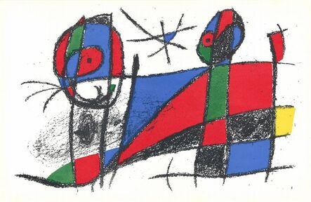 Joan Miró, 'Litografia Originale VI', 1972