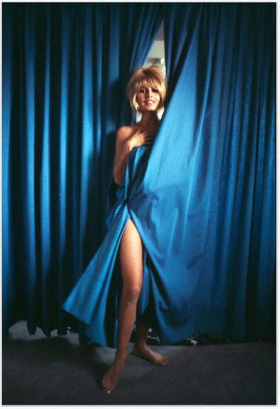 Douglas Kirkland, 'Bridgette Bardot - Blue Curtains'
