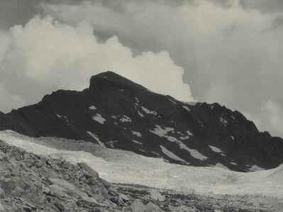 Ansel Adams, 'Muir Pass, the Black Giant, Sierra Nevada, California', 1930