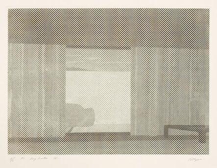 William Tillyer, 'Dry Lake IV', 1971