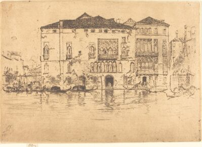 James Abbott McNeill Whistler, 'The Palaces', 1880
