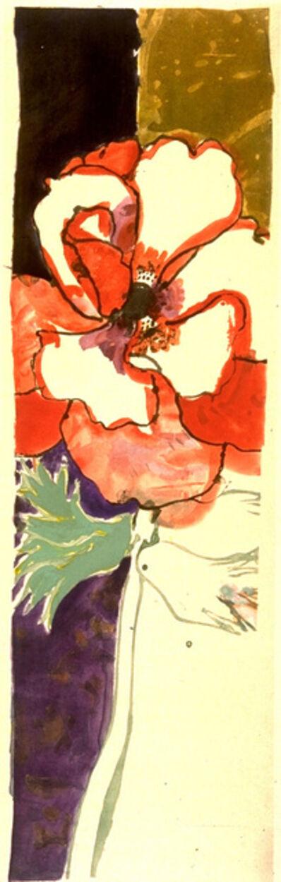 Robert Kushner, 'Red Anemone', 1989