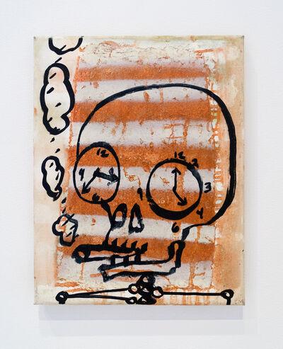 Chris Martin, 'Smoking (Watching the clock)', 2011