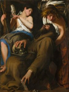 Giovanni Baglione, 'The Ecstasy of Saint Francis', 1601