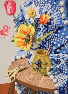 Sondra Freckelton, 'Blue Chenille', 1985