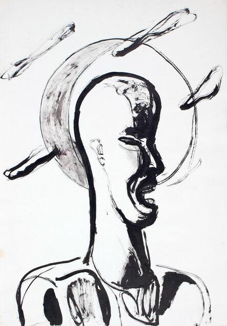 Klaus Killisch, 'Mondgesicht', 1987
