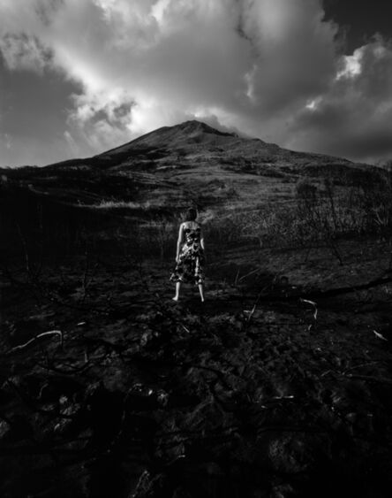 Marina Abramović, 'Looking at the volcano', 2006