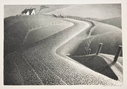 Grant Wood, 'March', 1939