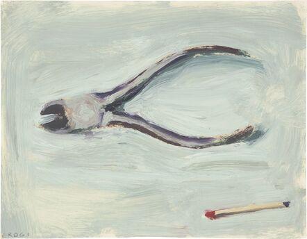 Richard Diebenkorn, 'Pliers and Match', 1961