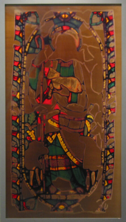Adam Fuss, 'Untitled (Stained Glass Series)', 1995