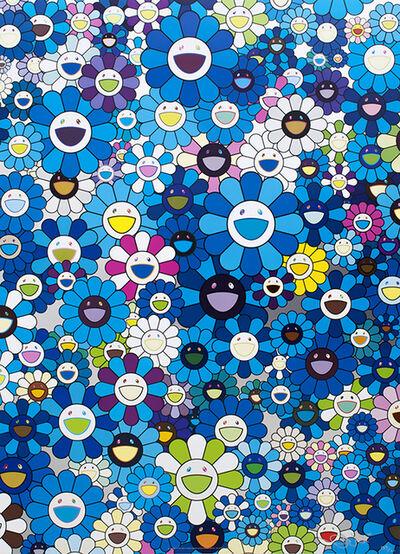 Takashi Murakami, 'An Homage to IKB 1957 D', 2012