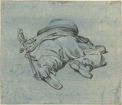 Jan Both, 'A Cavalier Lying on the Ground', ca. 1640
