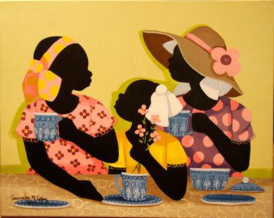 Cassandra Gillens, 'Grandma's Tea Set'