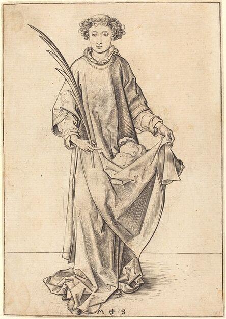 Martin Schongauer, 'Saint Stephen', ca. 1490/1491