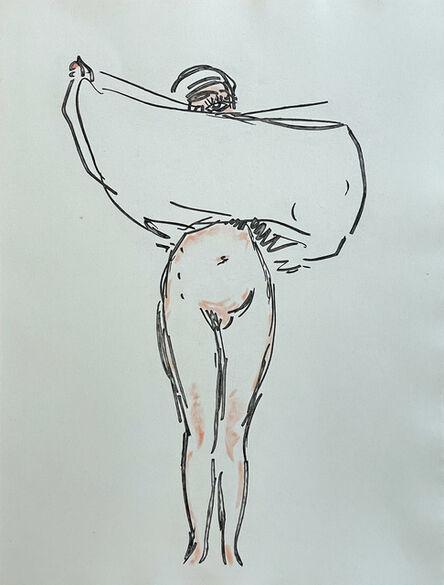 Kees van Dongen, 'Engraving from 'Les Fleurs du Mal'', 1966