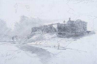 Edward Lear, 'Val Montone, Italy', 1840