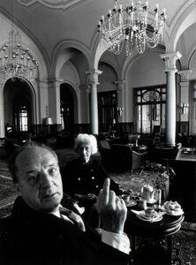 Arnold Newman, 'Vladimir and Vera Nabokov', 1968