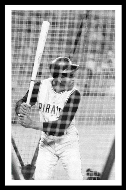 Neil Leifer, 'Roberto Clemente In Batting Cage', 1968