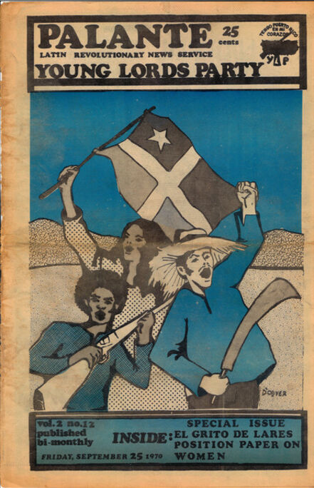Young Lords Party, 'Y.L.O. newspaper, v.2, n12', 9