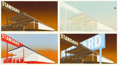 Ed Ruscha, 'i) Standard Station; ii) Mocha Standard; iii) Cheese Mold Standard with Olive; iv) Double Standard', 1966-1969