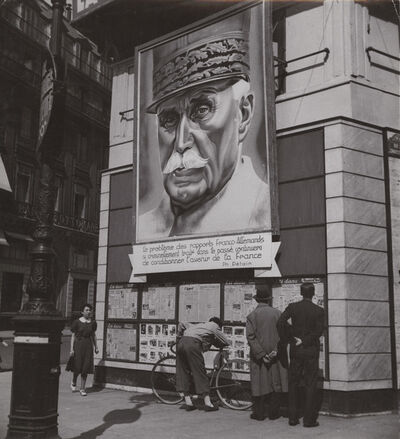Roger Parry, 'Propaganda Poster of General Petain', 1940s / 1940s