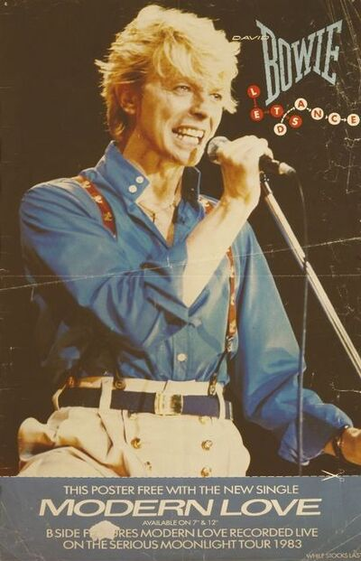 David Bowie, 'a collection of posters'