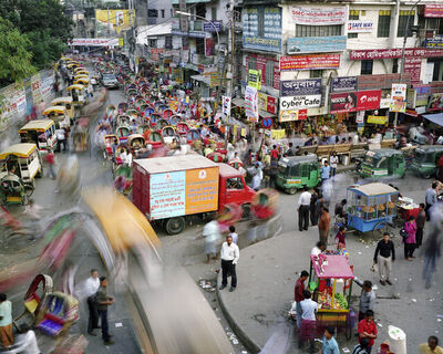 Martin Roemers, 'Tejturi Bazar, Farmgate, Dhaka, Bangladesh', 2011