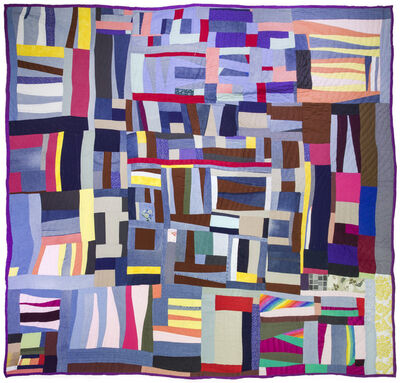Mary Lee Bendolph (Gee's Bend), 'Grandpa Stripes', 2010