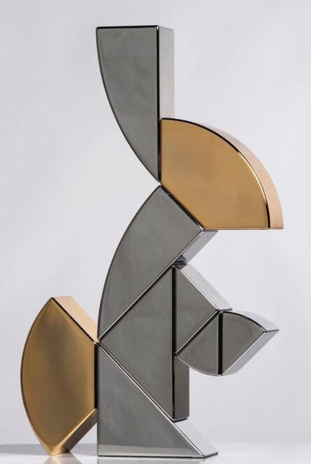 Camilla Ancilotto, 'Ab Ovo Rabbit (Steel)', 2019
