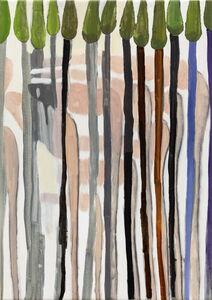 Juan Tessi, 'Figuras en el bosque', 2020