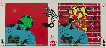 David Wojnarowicz, 'Untitled (Green Head)', 1982
