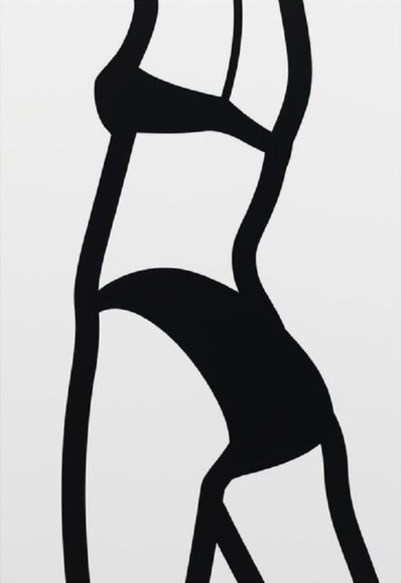 Julian Opie, 'Watching Suzanne (back) 8 (2006) (signed)', 2006