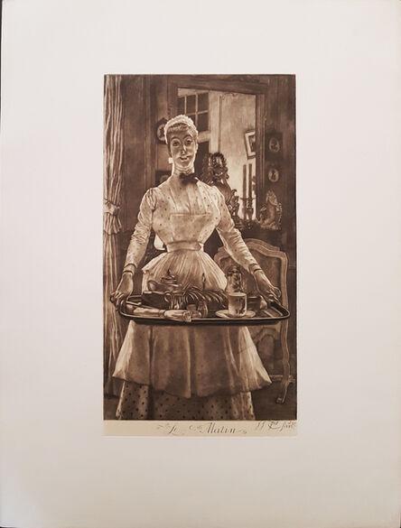 James Jacques-Joseph Tissot, 'Le Matin', 1886