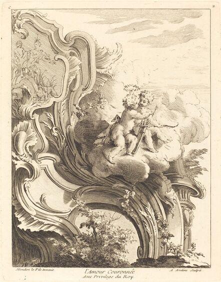 Antoine Aveline, 'L'Amour Couronnée', 1736