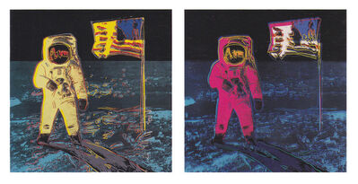 Andy Warhol, 'Moonwalk Complete Portfolio (FS II.404-405)', 1987