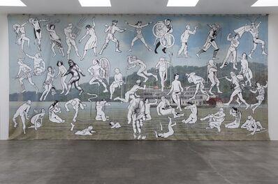 Jim Shaw, 'Mississippi River Mural', 2013