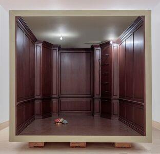 Robert Therrien, 'No title (paneled room)', 2017
