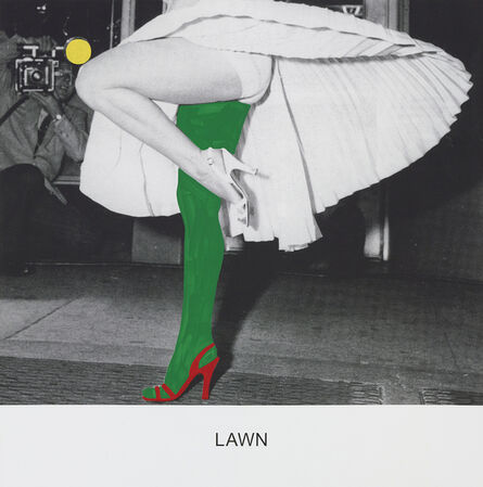 John Baldessari, 'LAWN', 2015