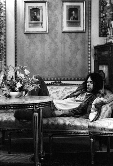 Gijsbert Hanekroot, 'Neil Young, Denmark, 1974', 1974