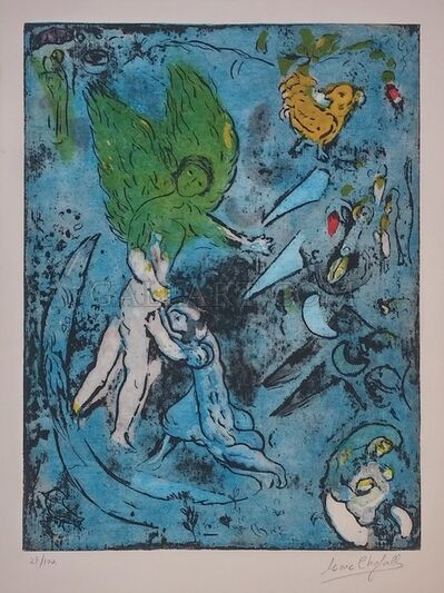 Marc Chagall, 'LA LUTTE DE JACOB ET DE L'ANGE', 1967